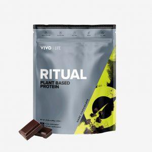 Vivolife Ritual veganske beljakovine - Temna čokolada