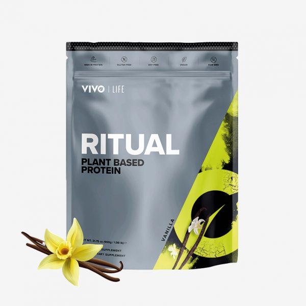 Vivolife Ritual veganske beljakovine - Vanilija