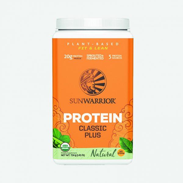 Sunwarrior veganske beljakovine Classic Plus - Naravni okus
