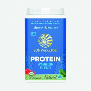Sunwarrior Warrior Blend rastlinski proteini - Naravni okus