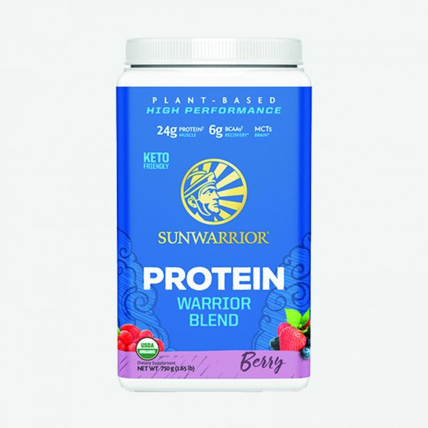 Sunwarrior Warrior Blend rastlinski proteini - Jagodičevje