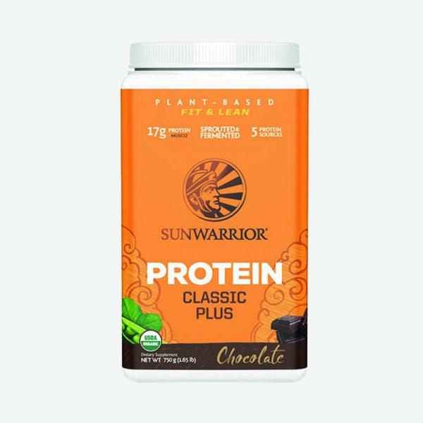 Sunwarrior veganske beljakovine Classic Plus - Čokolada