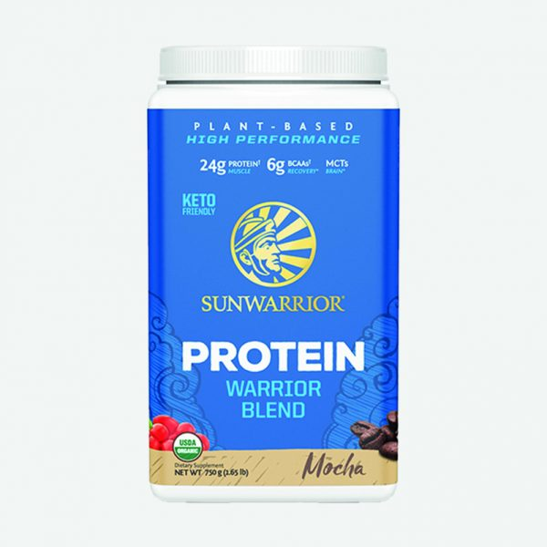 Sunwarrior Warrior Blend rastlinski proteini - Mocha