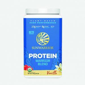 Sunwarrior Warrior Blend rastlinski proteini - Vanilija