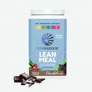 sunwarrior lean meal čokolada